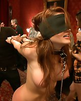 Beautiful Amateur Kenzie Vaughn Bound, Blindfolded, Ass Fucked, Dp'ed