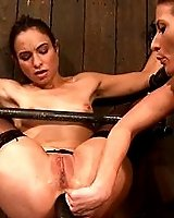 2 friends bound, one watches as other is bound and anally fisted, made to cum!