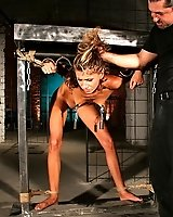 Skinny Amanda Vamp got punished in a maledom scene